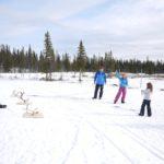 Schnitzeljagd für Kinder: Trapper und Goldwäscher