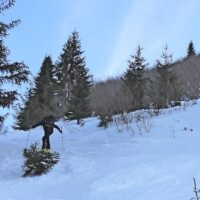 Die letzten hundert Höhenmeter vor dem Gipfel haben es in sich.   foto (c) kinderoutdoor.de