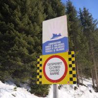 Skitouren mit Kindern: Abgesperrte Bereiche sind tabu. Punkt!  foto (c) kinderoutdoor.de