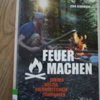 Buchbesprechung Outdoorbuch: Feuer machen. Haben wir für Euch auch gelesen.   foto (c) kinderoutdoor.de