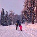 Familien Outdoor im Bayerischen Wald: Sicherer Winterspaß