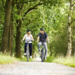 Radfahren mit der Familie in den Niederlanden