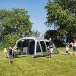 Familien-Camping mit Outwell: Alle schlafen draußen