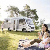 Wohnmobil Urlaub mit Kindern(c) Dethleffs