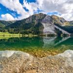 Als Familie im Tannheimer Tal unterwegs: Wandern oder klettern?