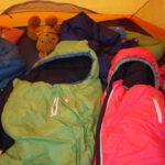 Kinder Outdoor Schlafsack Grüezi Bag Biopod Wolle Kids World Traveller im Test