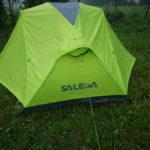 Outdoor Zelt im Test: Salewa Denali II im Dauerregen