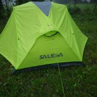 Outdoor Zelt im Test: Salewa Denali II im Dauerregen foto (c) kinderoutdoor.de