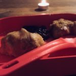 Kinder kochen Marillenknödel
