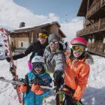 Kinder im Schnee: Les Menuires!
