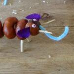 Mit Kastanien basteln: Ein lustiger Elefant