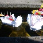 Kinder Outdoor basteln: Ein Traumschiff in fünf Minuten