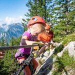 Kinder Klettersteig am Achensee eröffnet: Die ganze Familie am Felsen