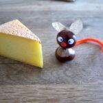 Kinder Outdoor basteln mit Kastanien: Eine süße Maus