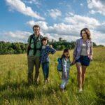 Kinder entdecken die Tschechische Republik