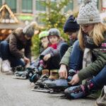 Kinder Outdoor Schlittschuhe von Hudora: Heiße Kufe!