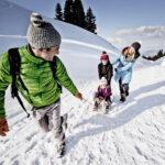 Kinder Outdoor Spaß im Schnee: Winter her!