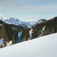 Kinder Outdoor Abenteuer in Oberösterreich in Winter Copyright: © Oberösterreich Tourismus GmbH/Robert Maybach