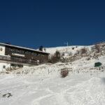 Kinder auf Berghütten im Winter: Das Spitzsteinhaus