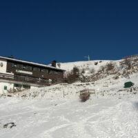 Kinder auf Berghütten im Winter hier das Spitzsteinhaus foto (c) kinderoutdoor.de