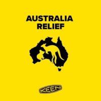 Keen Australia relief. foto (c) Keen