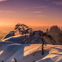 Winterwandern mit Kindern in der sächsischen Schweiz Urheber: Matthias Menge Copyright: Matthias Menge