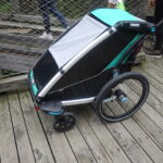 Kinder Outdoor Test: Thule Chariot Lite 1