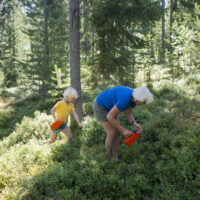 Kinder Outdoor Abenteuer in Schweden foto (c) Johan Willner