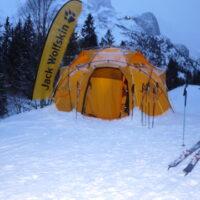 Mikroabenteuer für Kinder Zelten im Winter foto (c) kinderoutdoor.de