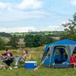 Outdoor Zelt Coleman OctaGo für Einsteiger: 360 Grad Blick inklusive