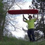 Kinder Outdoor Experiment: Die fliegende Vaude Isomatte