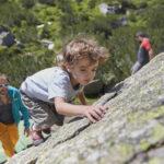 Kinder Outdoor Klettern: Galtür bietet mehr