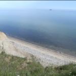 Kinder Outdoor wandern an der Ostsee: Steilküste Schwedeneck