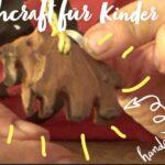 Schnitzen für Kinder: Ein Mammut!