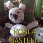 Basteln mit Kastanien: Einen Koalabären