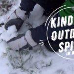 Kinder Outdoor Spiele im Winter: Schnitzeljagd im Schnee