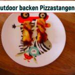 Outdoor backen für Kinder: Pizzastangen vom Lagerfeuer