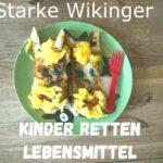 Kinder retten Lebensmittel: Starke Wikinger!