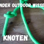 Kinder Outdoor Wissen Knoten