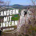 Kinder wandern am Messelberg