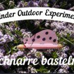 Kinder Outdoor Experimente: Die Schnarre