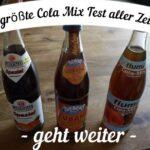 Cola Mix Test: Drei neue Kandidaten