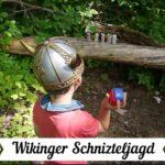 Kinder Outdoor Schnitzeljagd Wikinger
