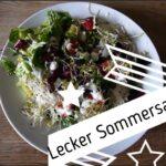Kinder Outdoor Rezepte: Sommersalat