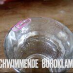 Experiment für Kinder: Die schwimmende Büroklammer