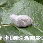 Bushcraft mit Kindern: Steinvogel
